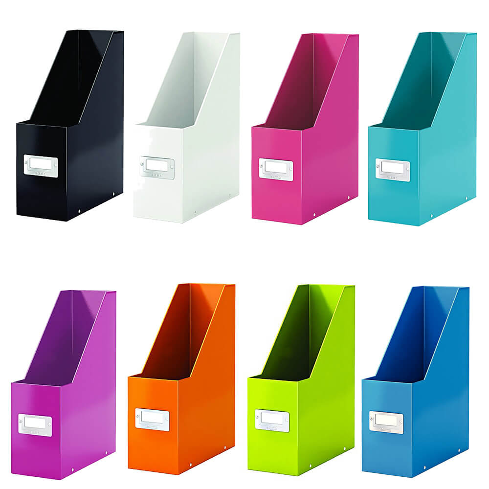 Suport vertical pentru documente Leitz Click & Store, carton laminat