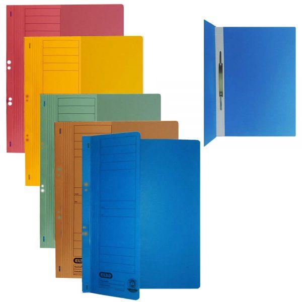 Dosar carton color cu capse coperta 1/2 ELBA