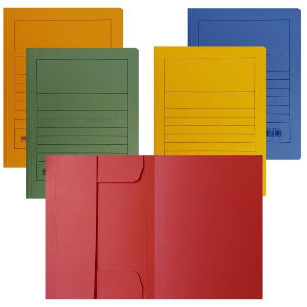 Dosar carton colorat plic ELBA
