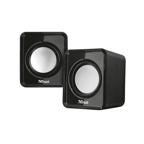 Set difuzoare stereo Trust Leto 2.0, compacte, conectare USB, jack
