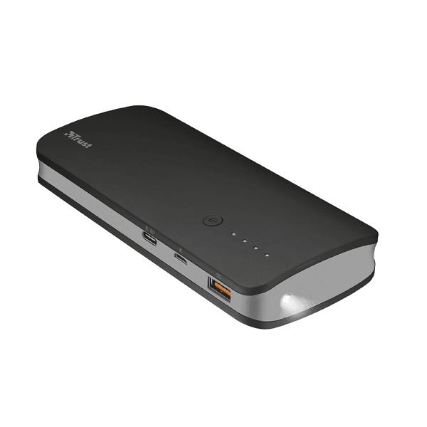 Baterie externa Trust Omni Ultra Fast 10.000 mAh USB-C, quickcharge 3.0, 2 x USB