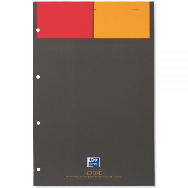 Blocnotes A4+, OXFORD Int., 80 file-90g/mp, Scribzee, 4 perf., coperta carton - matematica