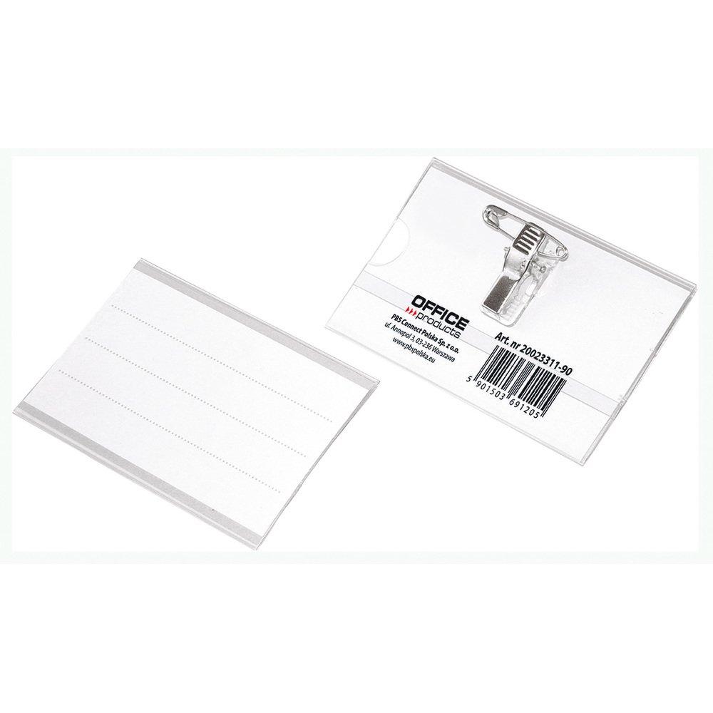 Ecuson cu ac si clip 57 x 90 mm, Office Products