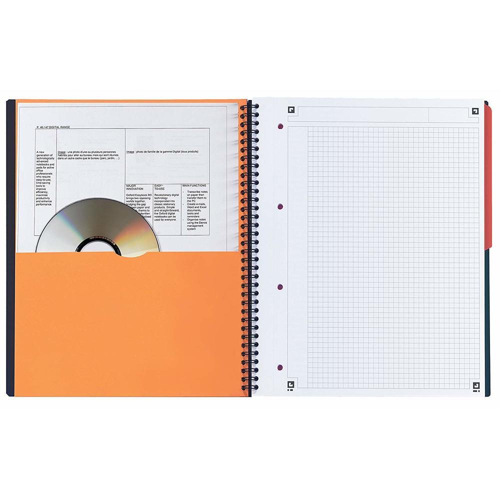 Caiet cu spirala A4+, OXFORD International Activebook