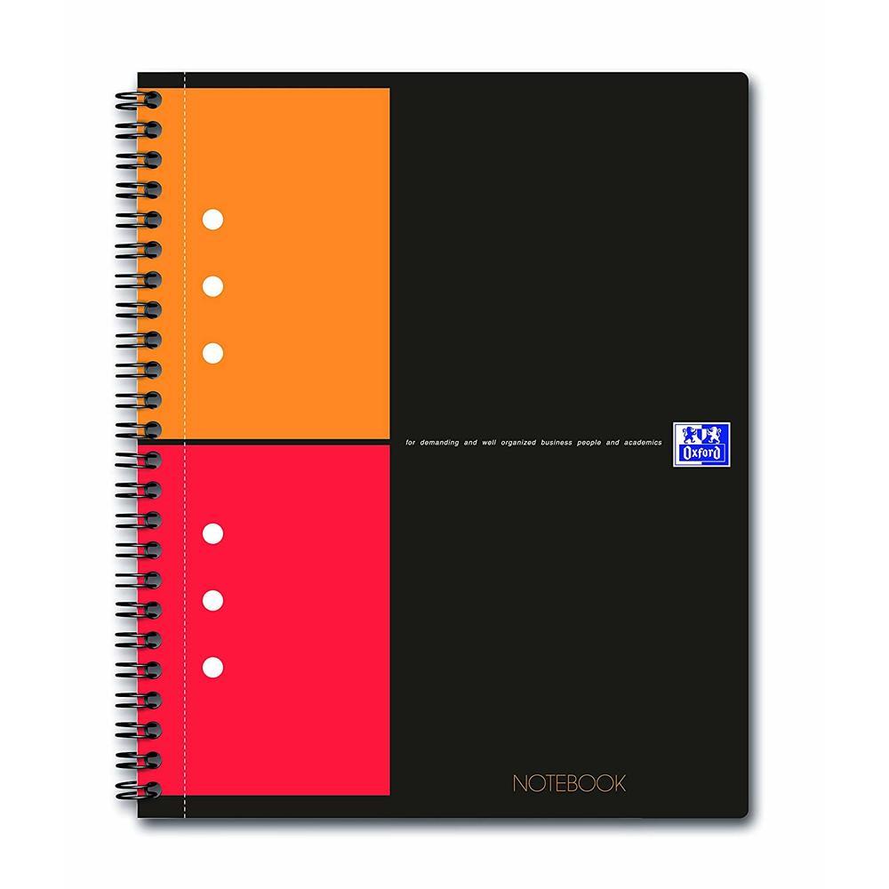 Caiet cu spirala A5+, OXFORD Int. Notebook, 80 file-80g/mp