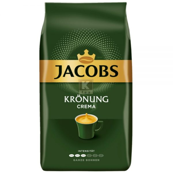 Cafea Jacobs kronung cafe crema, 1000 gr./pachet - boabe