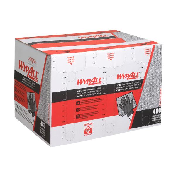 Laveta Wypall Forcemax dim 33.5x34.5 cm 480 lavete/um