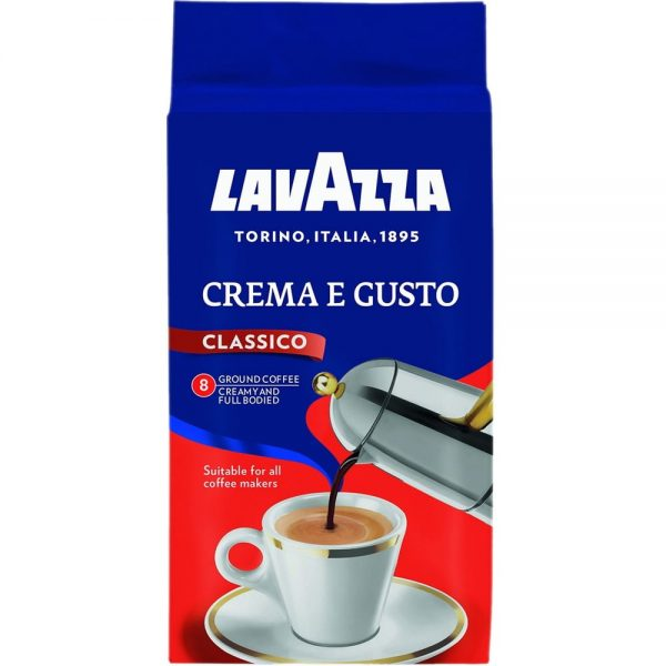 Cafea Lavazza crema e gusto, 250 gr./pachet - macinata