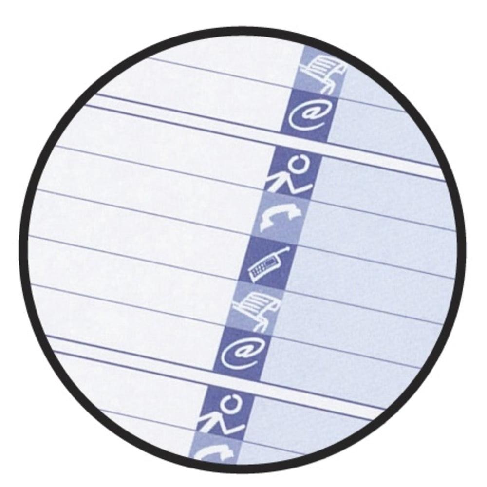 Caiet cu spirala Oxford Office Essentials Addressbook, coperta carton, 72 file