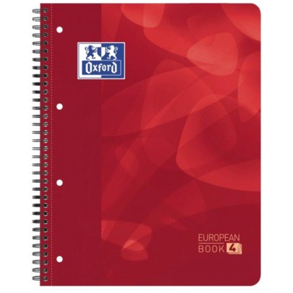Caiet cu spirala A4+, OXFORD School Projectbook, 4cul x30 file-90g/mp, Scribzee, coperta PP