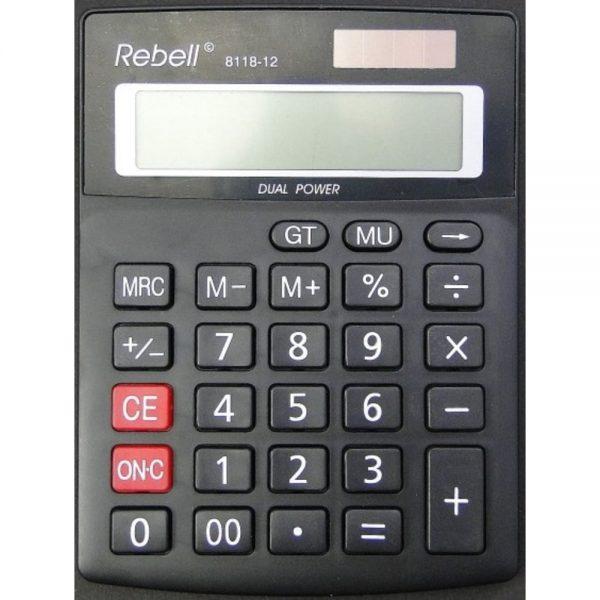 Calculator de birou 12 digiti Rebell 8118-12
