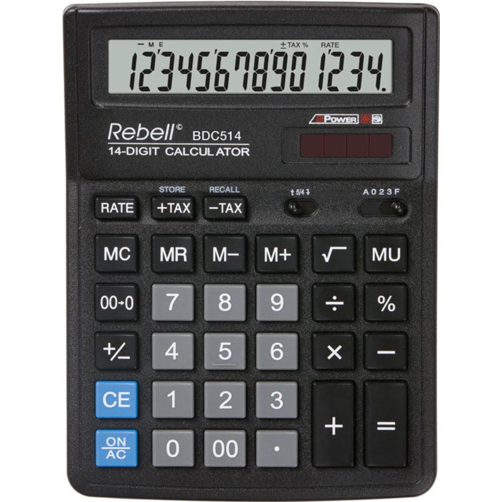 Calculator de birou cu 14 digiti Rebell BDC 514