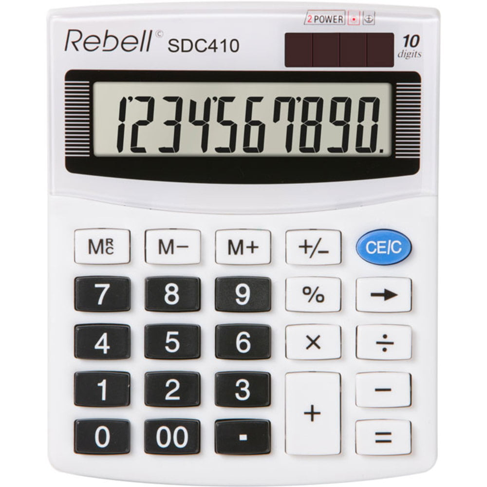 Calculator de birou cu 10 digiti Rebell SDC 410