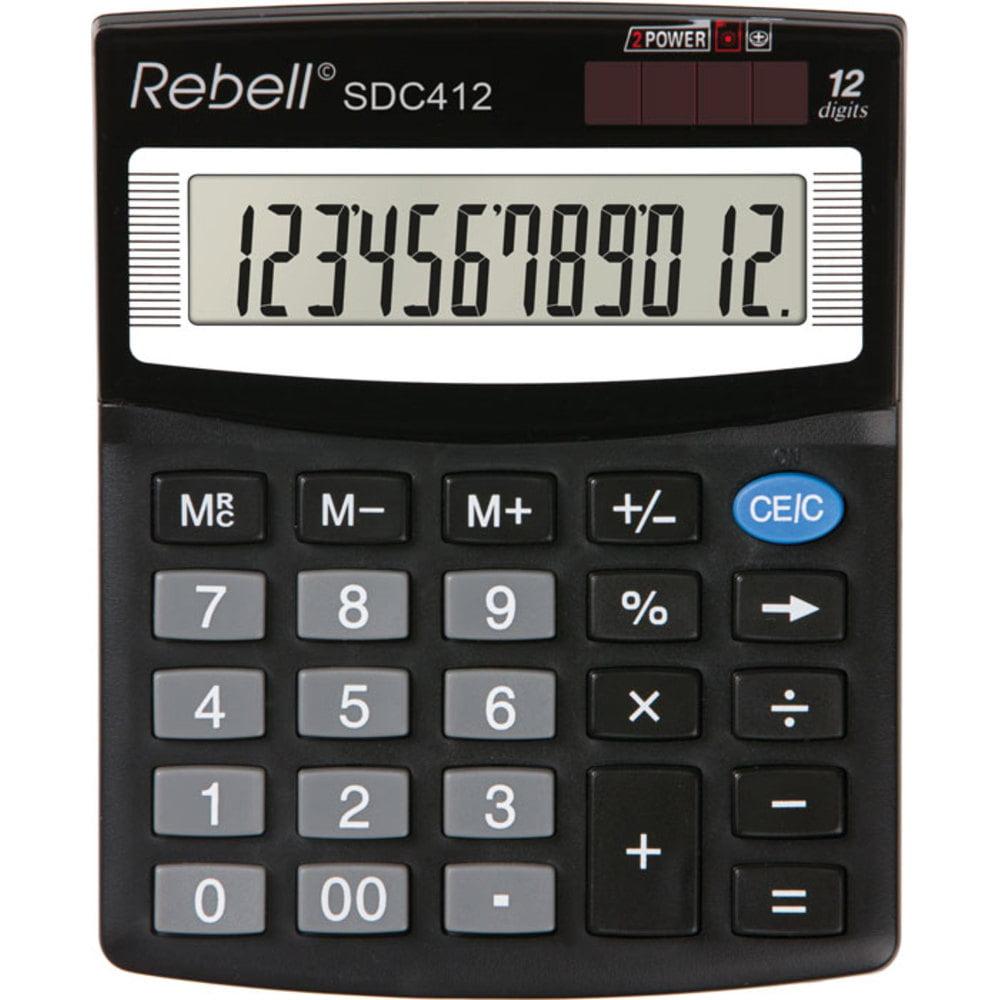 Calculator de birou cu 12 digiti Rebell SDC 412