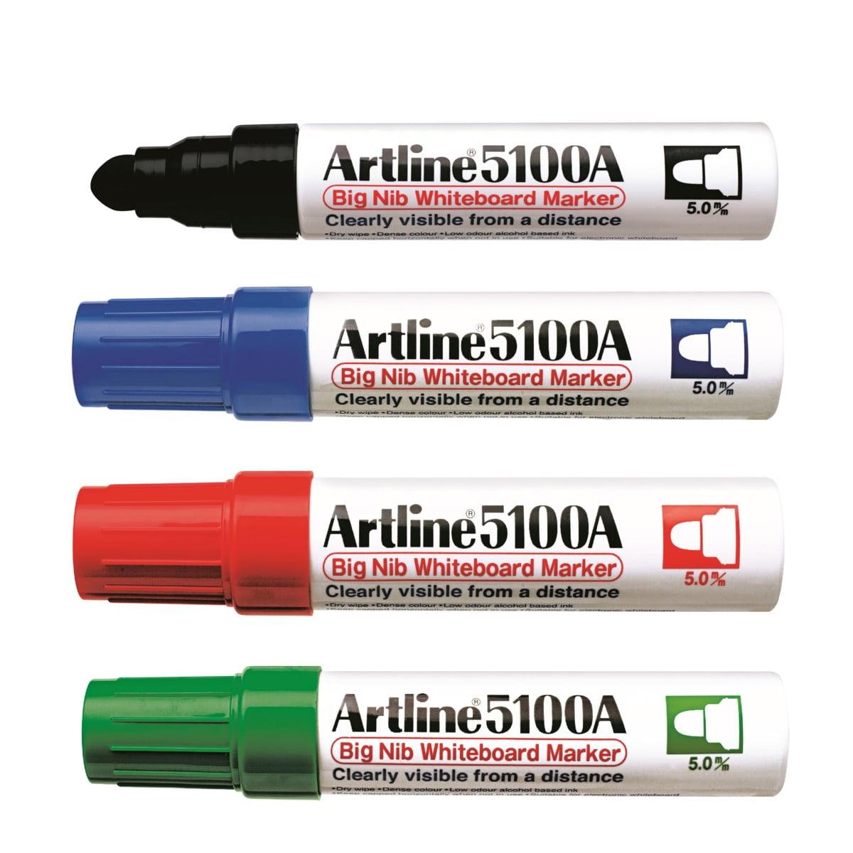 Marker pentru tabla Artline Big Nib 5100A - diverse culori