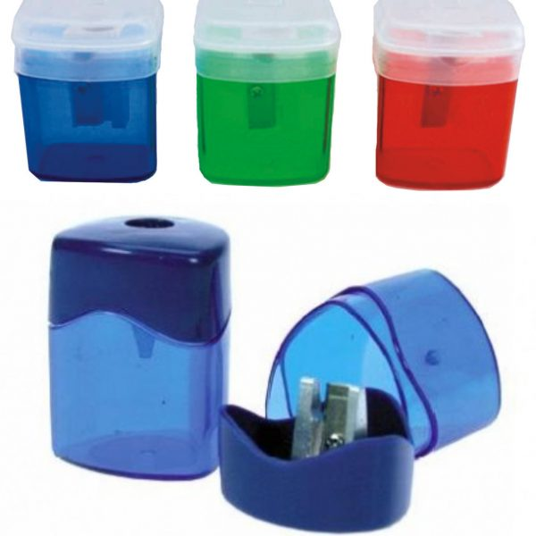 Ascutitoare plastic simpla cu container ARTIGLIO