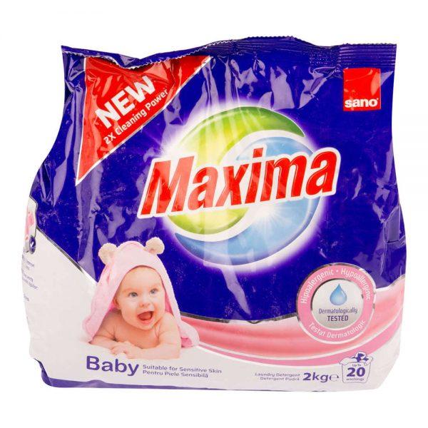 Detergent haine bebe SANO Maxima Baby, 2 kg