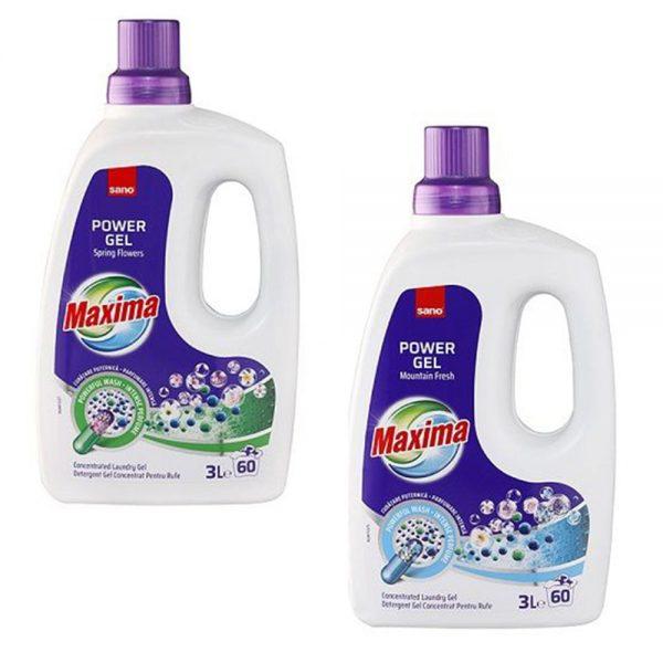 Detergent gel SANO Maxima Power Gel, 3 L
