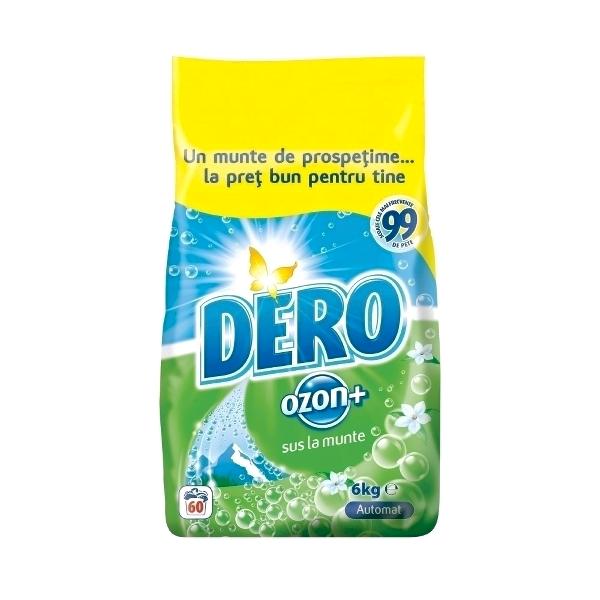 Detergent automat pudra pentru rufe, 6 kg, Dero Ozon