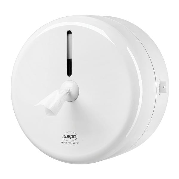 Dispenser pentru hartie igienica Wepa, cu derulare centrala