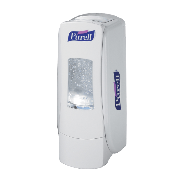 Dispenser manual Purell ADX, pentru gel dezinfectant, 700 ml, alb