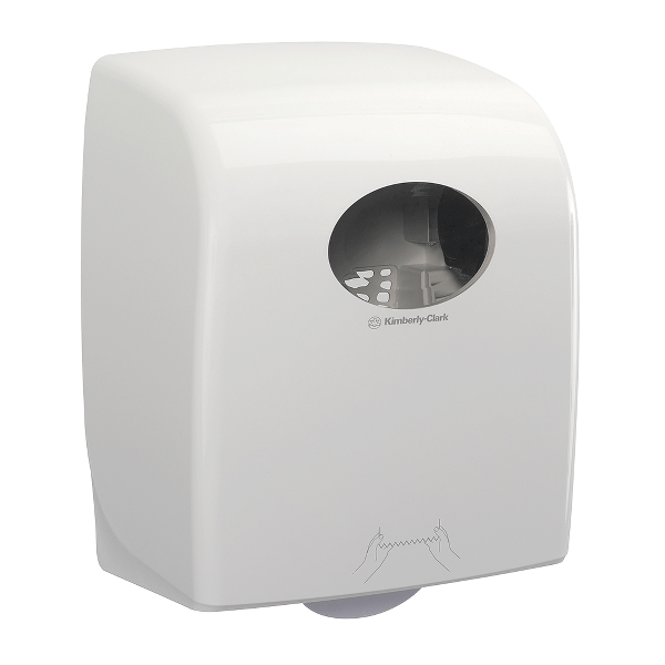 Dispenser manual Kimberly-Clark Aquarius, pentru prosoape in rola Scott Max