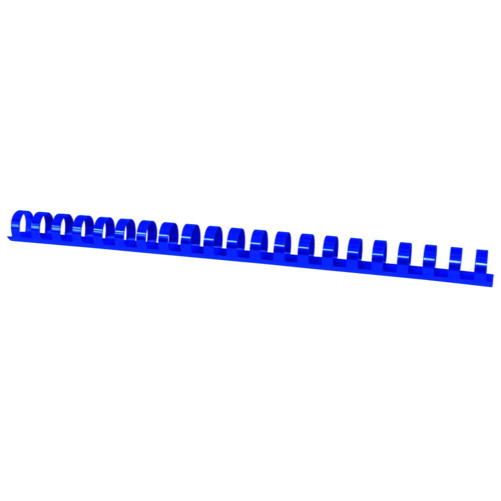Inele plastic 19 mm, max 175 coli, 100buc/cut, Fellowes