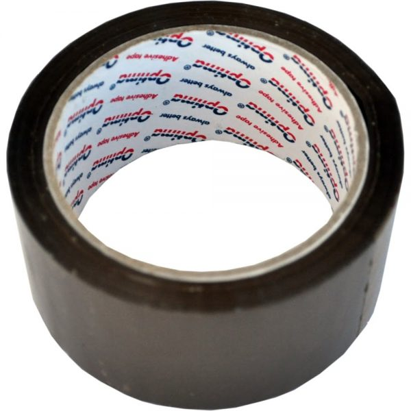 Banda adeziva 48mm x 66m, 45 microni, Optima - maro