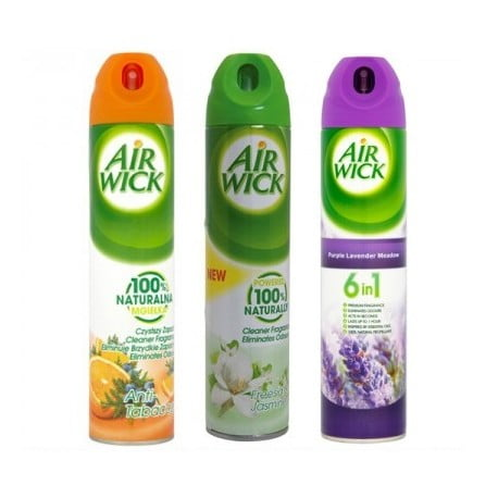 Odorizant camera Air Wick 6in1 240 ml, diverse arome