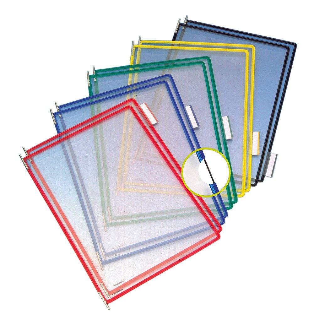 Buzunare prezentare pentru display, A4, (10 buc/set), rama metalica, TARIFOLD