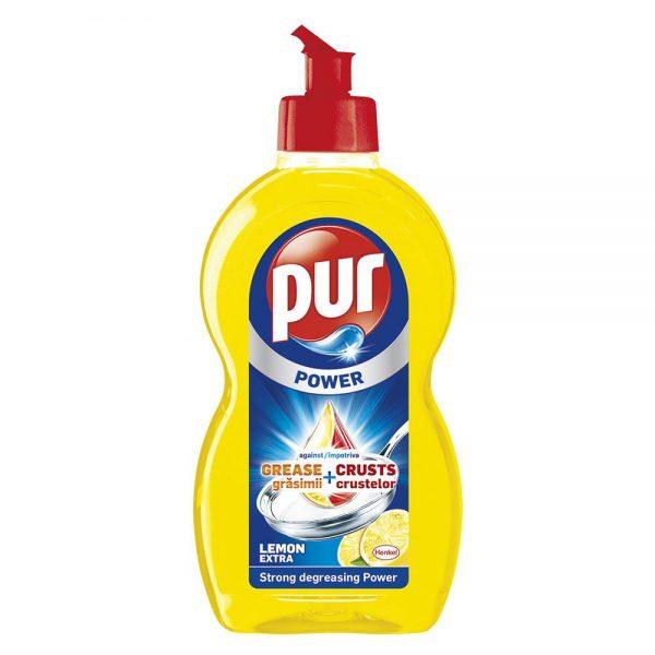 Detergent lichid pentru vase, 450 ml, Pur