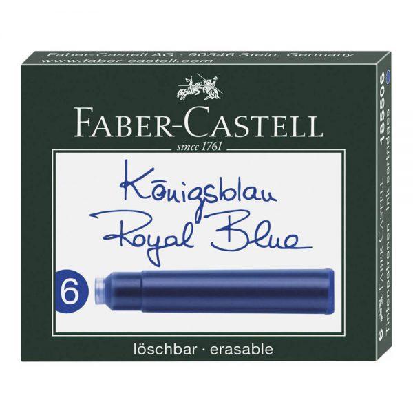 Patroane cerneala mici 6 buc/set, FABER-CASTELL