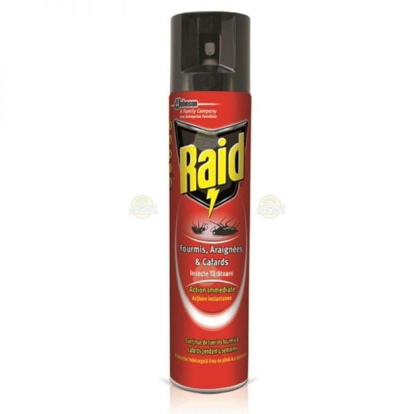 Spray Raid impotriva gandacilor si furnicilor, 400 ml