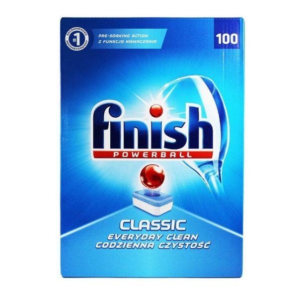 Finish Tablete pentru masina de spalat vase, 100 buc/cutie, CLASSIC