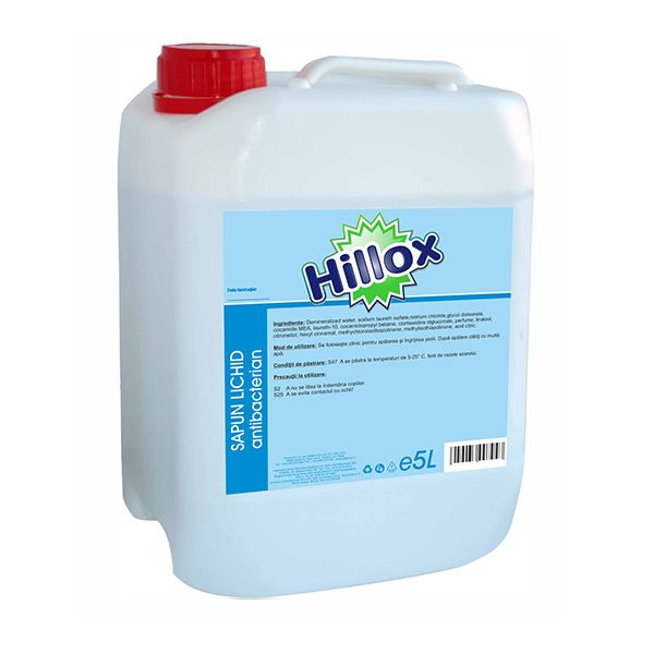 Sapun lichid antibacterian , 5L, Hillox