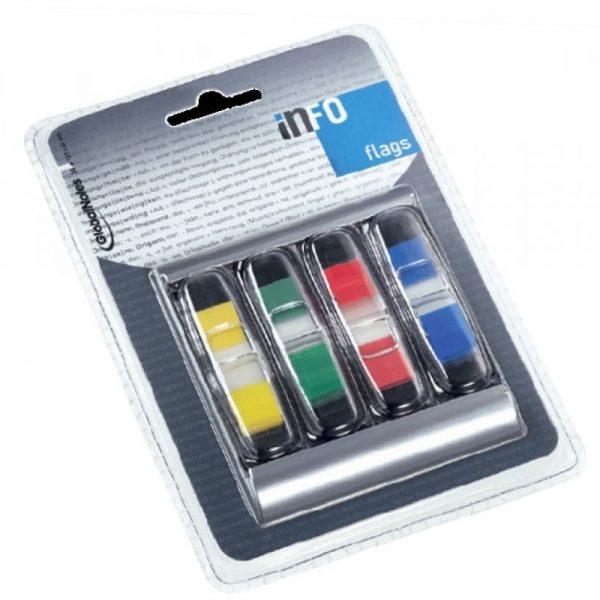Dispenser indecsi 4 x 12.5 x 43 mm, 36 file/culoare, Info Notes