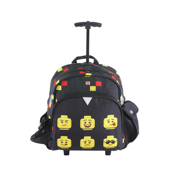 Troller/rucsac LEGO V-Line - design Faces Black