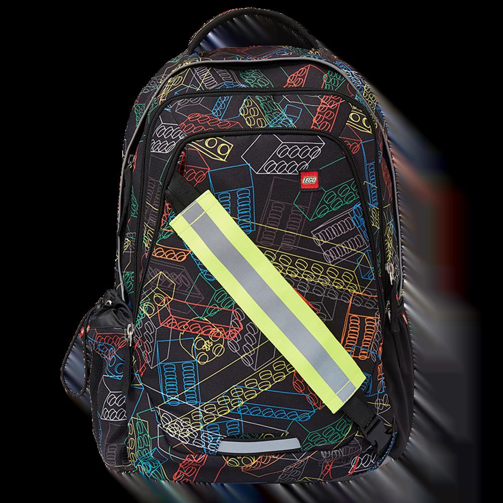 Rucsac scoala Zero, LEGO Core Line - design multicolor