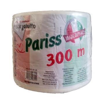 Rola prosop celuloza, 2 straturi, 300 m, PARISS