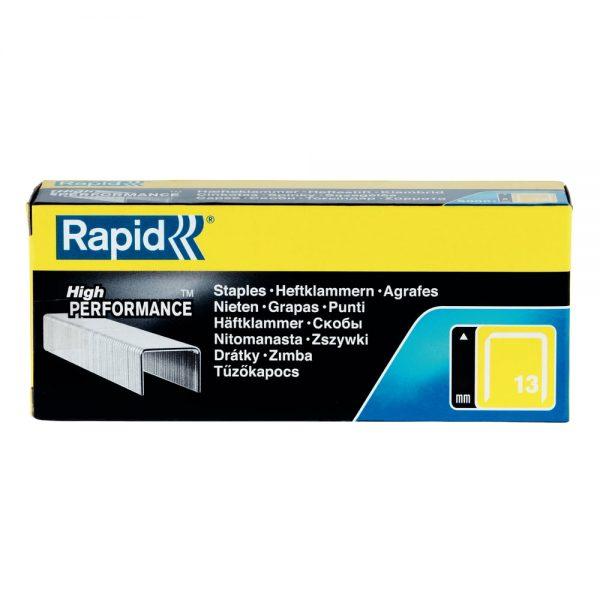Capse RAPID 13/ 4, 5.000 buc/cutie - pentru pistol de capsat RAPID M10Y