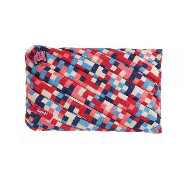 Penar cu fermoar, ZIPIT Pixel Jumbo - culori asortate