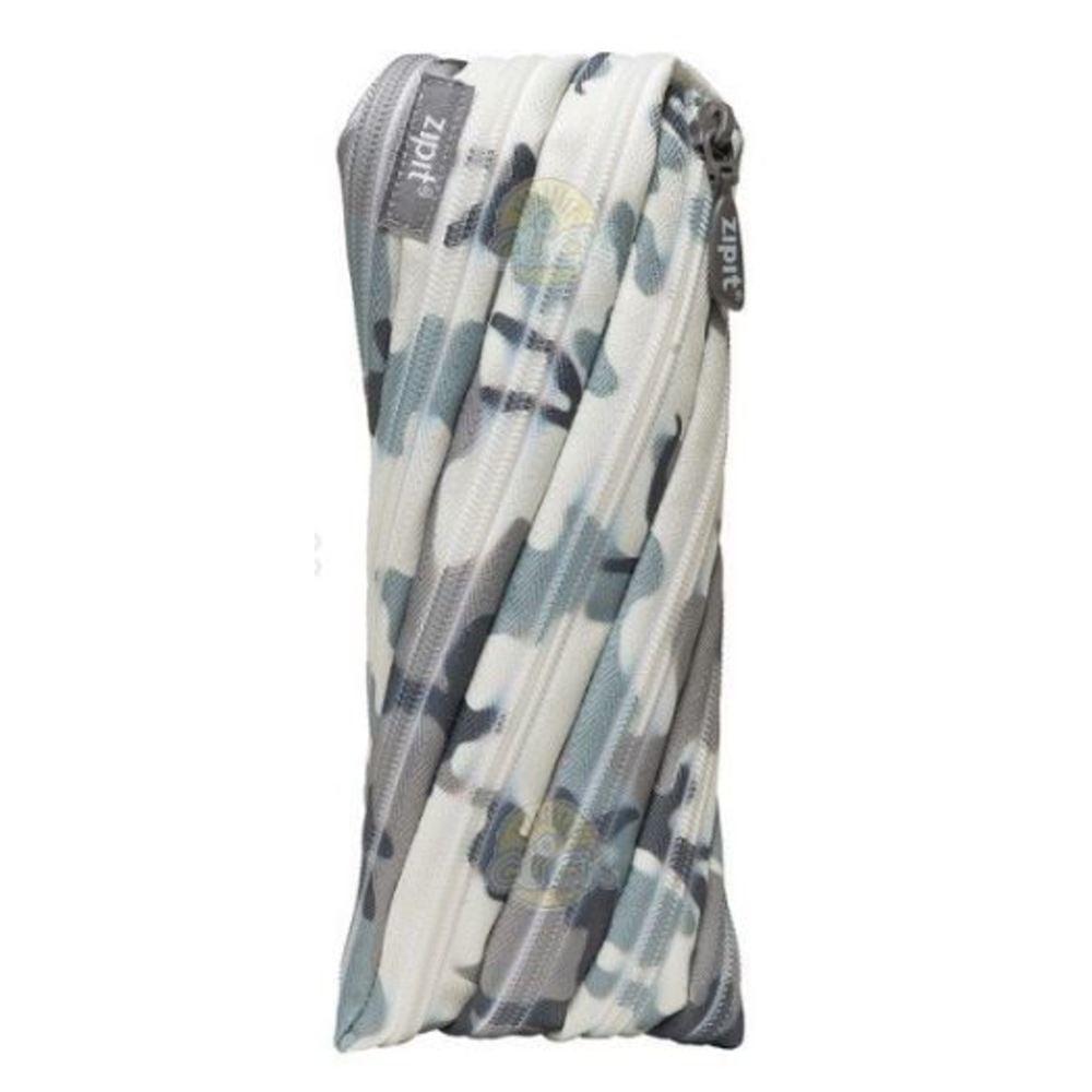 Penar cu fermoar, ZIPIT Camouflage - camuflaj gri
