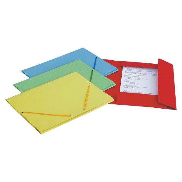 Mapa carton cu elastic Esselte Lux