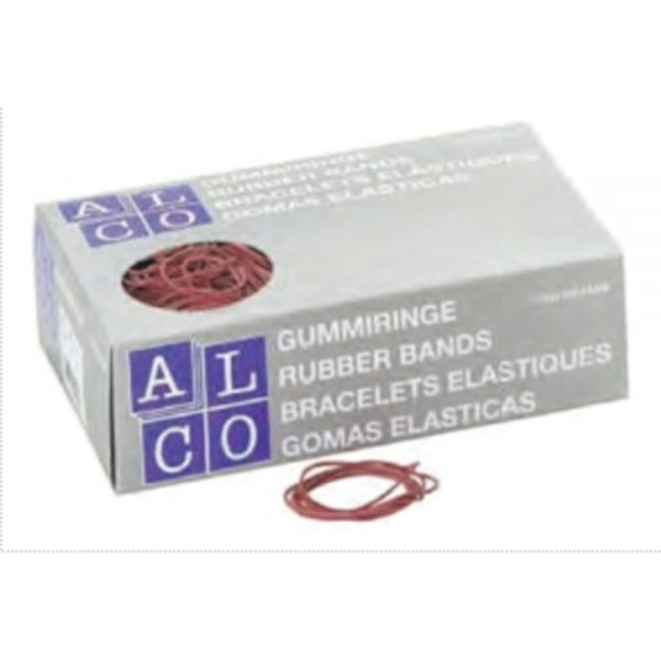Elastice pentru bani, 1000g/cutie, D 85 x 1,5mm, ALCO