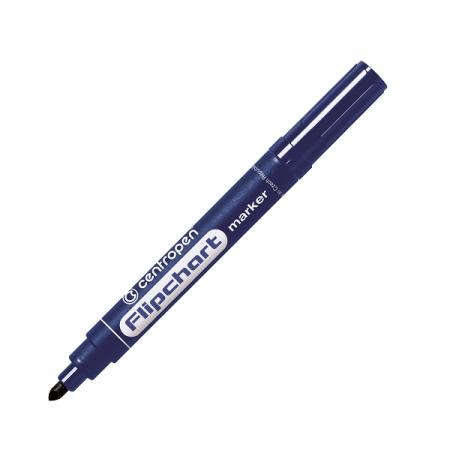 Marker flipchart, varf rotund 2.5mm, Centropen 8550