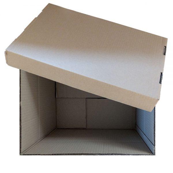Container arhivare cu capac detasabil 538x382x275mm