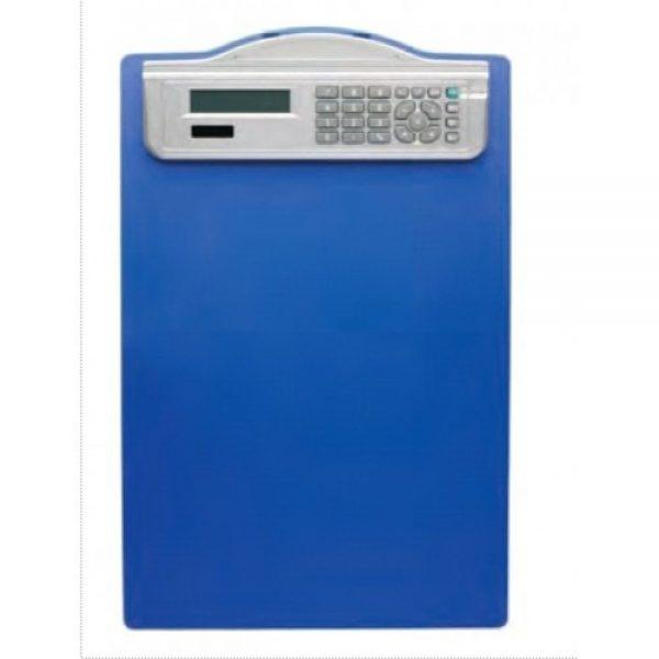 Clipboard plastic simplu A4 prevazut cu calculator si rigla