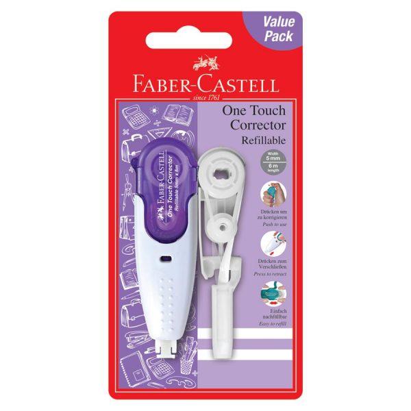Banda corectoare cu rezerva 5mmx6m Faber-Castell