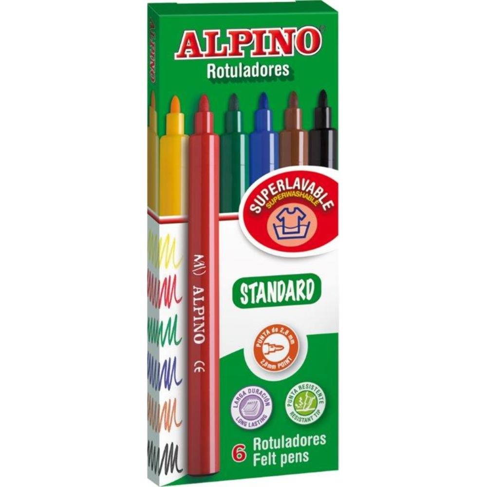 Carioca lavabila Alpino Standard - culori clasice