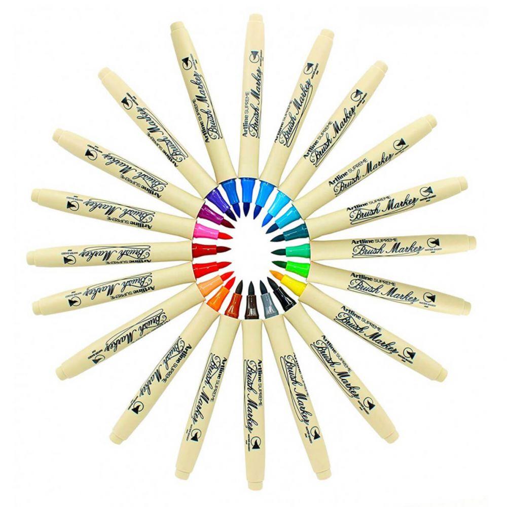 Marker cu varf tip pensula ARTLINE Supreme Brush ( diverse culori )